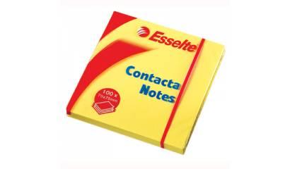 Bloczek samop. ESSELTE CONTACTA 75x50 żółte (100kart) 83005