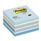 Kostka samoprzylepne 3M Post-it 76x76 2028-B niebieska akwarela (450)