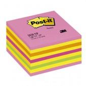 Kostka samoprzylepne 3M Post-it 76x76 2028-NP różowa cukierkowa (450)