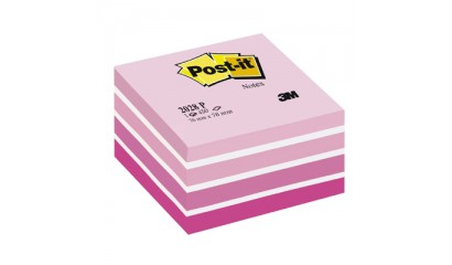 Kostka samop. 3M Post-it 76x76 2028-P różowa akwarela (450)