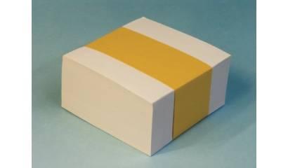 Bloczek wkład bialy HAS nieklejony 8.5x8.5/38mm