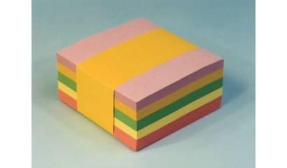 Bloczek wkład kolor HAS nieklejony 8.5x8.5/38mm