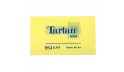 Bloczek samop. TARTAN 76x127 żółte 12776