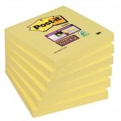 Bloczek samop. 3M 76x76 Super Sticky żółty (90kart) 654-S (2+1 gratis)
