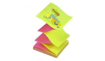 Bloczek samop. 3M 76x76 żółto/różowy jakskr Z-notes (100kart.) R330-NA