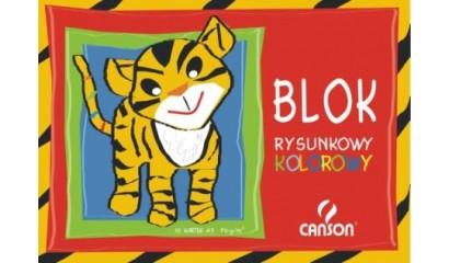 Blok rysunkowy A3 CANSON kolor 10k 6666-120