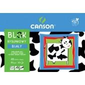 Blok rysunkowy A3 CANSON biały 20k 6666-118