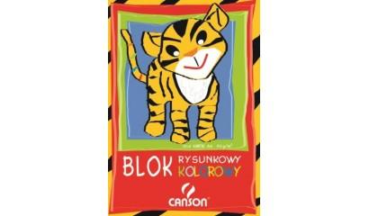 Blok rysunkowy A4 CANSON kolor 10k 6666-119