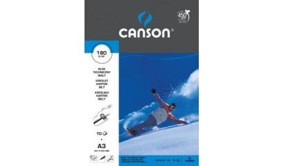 Blok techniczny CANSON A3/10k biały 6666-172