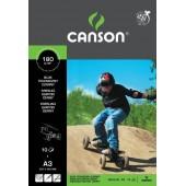 Blok techniczny CANSON czarny A4/10k 400075233