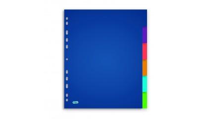 Przekładki PP ELBA A4 MAXI kolorowe 6kol.400015155