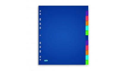 Przekładki PP ELBA A4 MAXI kolorowe 12kol.400015156
