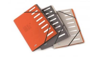 Teczka segregująca ELBA FOR BUSINESS A4 8 przegródek mix kolor 400013690
