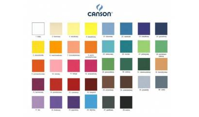 Brystol CANSON COLORLINE 50x65cm/150g