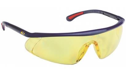 Okulary ochronne iSPECTOR Barden, UV, żółte