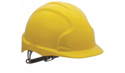 Kask ochronny JSP Evo2, żółty