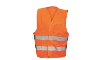 Kamizelka odblaskowa Flash (BE-04-003), pomarańczowa