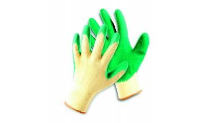 Rękawice ekon. FRIDRICH&FRIDRICH Clinker (HS-04-002), montażowe, rozm. 8, żółto-zielone