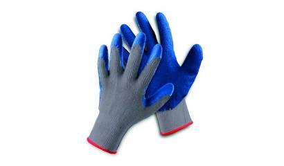 Rękawice ekon. FRIDRICH&FRIDRICH Clinker (HS-04-002), montażowe, rozm.10, szaro-niebieskie