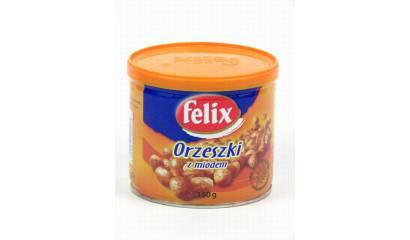 Orzeszki Felix z miodem 140g
