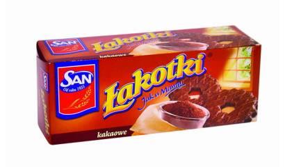 Herbatniki Łakotki SAN kakaowe148g