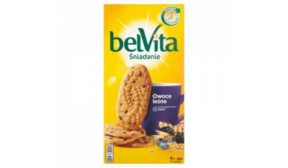 Ciastka BelVita Owoce leśne 300g