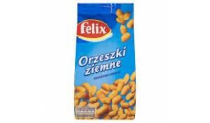 Orzeszki Felix solone 380g