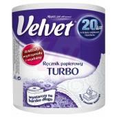 Ręcznik kuchenny VELVET TURBO 3W 300 listków (1 rolka)