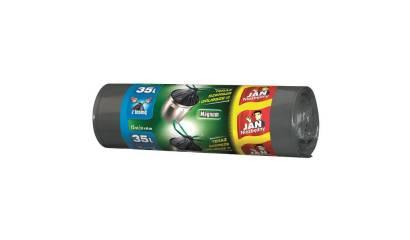 Worki na śmieci 35l JAN NIEZBĘDNY Magnum Pack super mocne (15) z taśmą