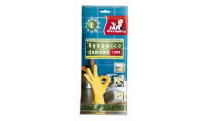 Rękawice domowe JAN NIEZBĘDNY rozmiar L