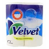 Ręcznik kuchenny VELVET biały (2rolki)