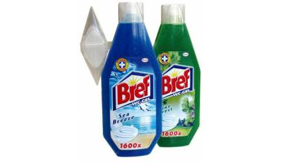 Żel do WC BREF 400ml Leśny