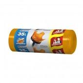 Worki na śmieci 35l JAN NIEZBĘDNY Kolor-mix (30szt) wiązane