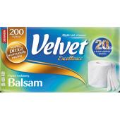 Papier toaletowy VELVET EXCELLENCE Balsam 3W 200listków (8 rolek)