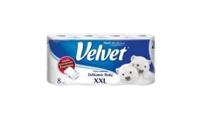 Papier toaletowy VELVET XXL (8) biały