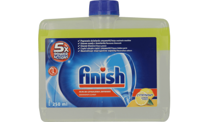 Płyn do czyszczenia zmywarki FINISH Lemon 250ml