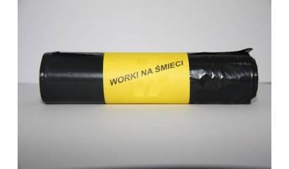Worki na śmieci 160l czarne (25)