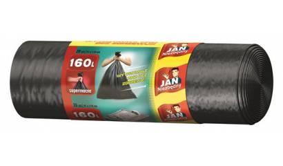 Worki na śmieci 160l JAN NIEZBĘDNY super mocne (20szt)