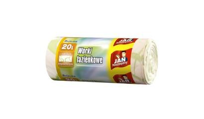 Worki na śmieci 20L JAN NIEZBĘDNY łazienkowe (20szt)
