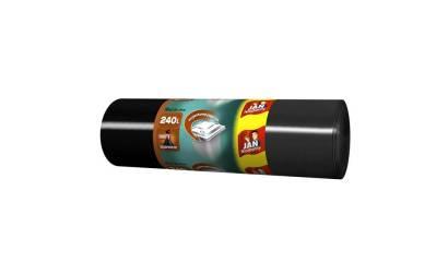 Worki na śmieci 240L JAN NIEZBĘDNY super mocne (10szt)
