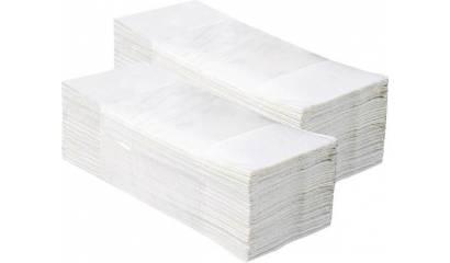 Ręcznik składany ZZ MERIDA Economy biały 1W PZ26 (4000)