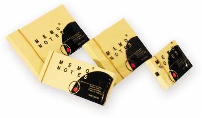 Karteczki samoprzylepne DALPO 50x40 żołty (100kart) (3szt) NS50 / 40 / 3