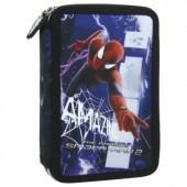 Piórnik z wyposażeniem dwukomorowy Amazing Spider-Man 19 Derform