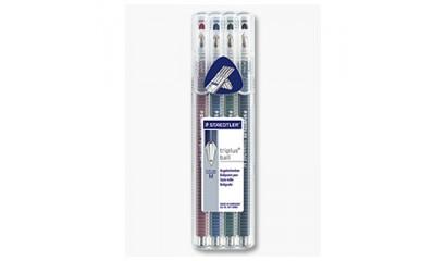 Długopis STAEDTLER Triplus Ball 431 F kpl.4 kol.