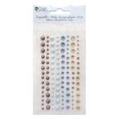 Kryształki i perły samoprzylepne DALPRINT Azure&Spice (120 szt.) GRKP-001