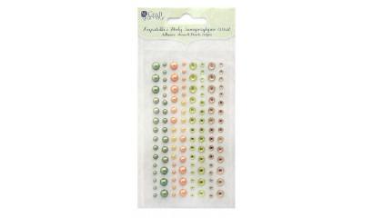 Kryształki i perły samoprzylepne DALPRINT Lemon Drop (120 szt.) GRKP-007