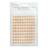 Kryształki samoprzylepne DALPRINT Orange (100 szt.) 6 mm GRKR-006