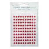 Kryształki samoprzylepne DALPRINT Ruby (100 szt.) 6 mm GRKR-007