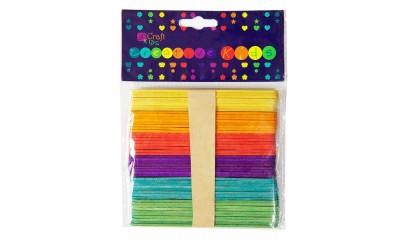 Patyczki kreatywne DALPRINT kolorowe (50 szt.) KSPA-002