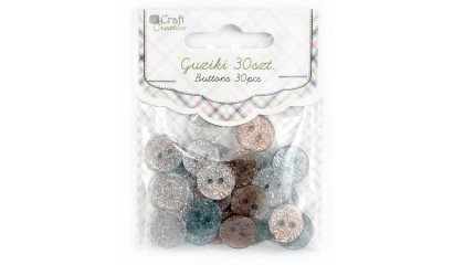 Guziki DALPRINT 12mm Moonlight Stone (30szt) CEGU-004